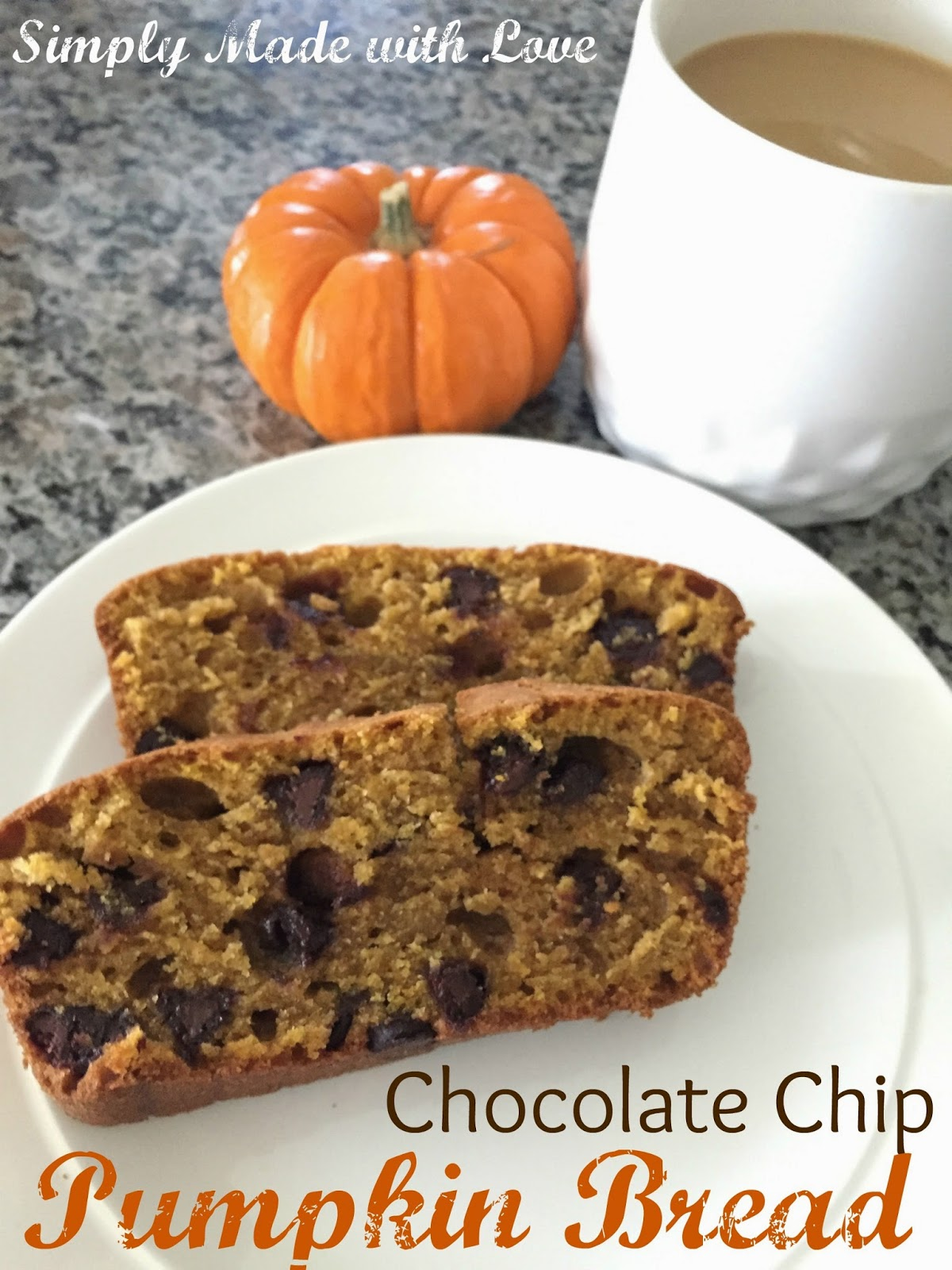 simply made with love: Chocolate Chip Pumpkin Bread