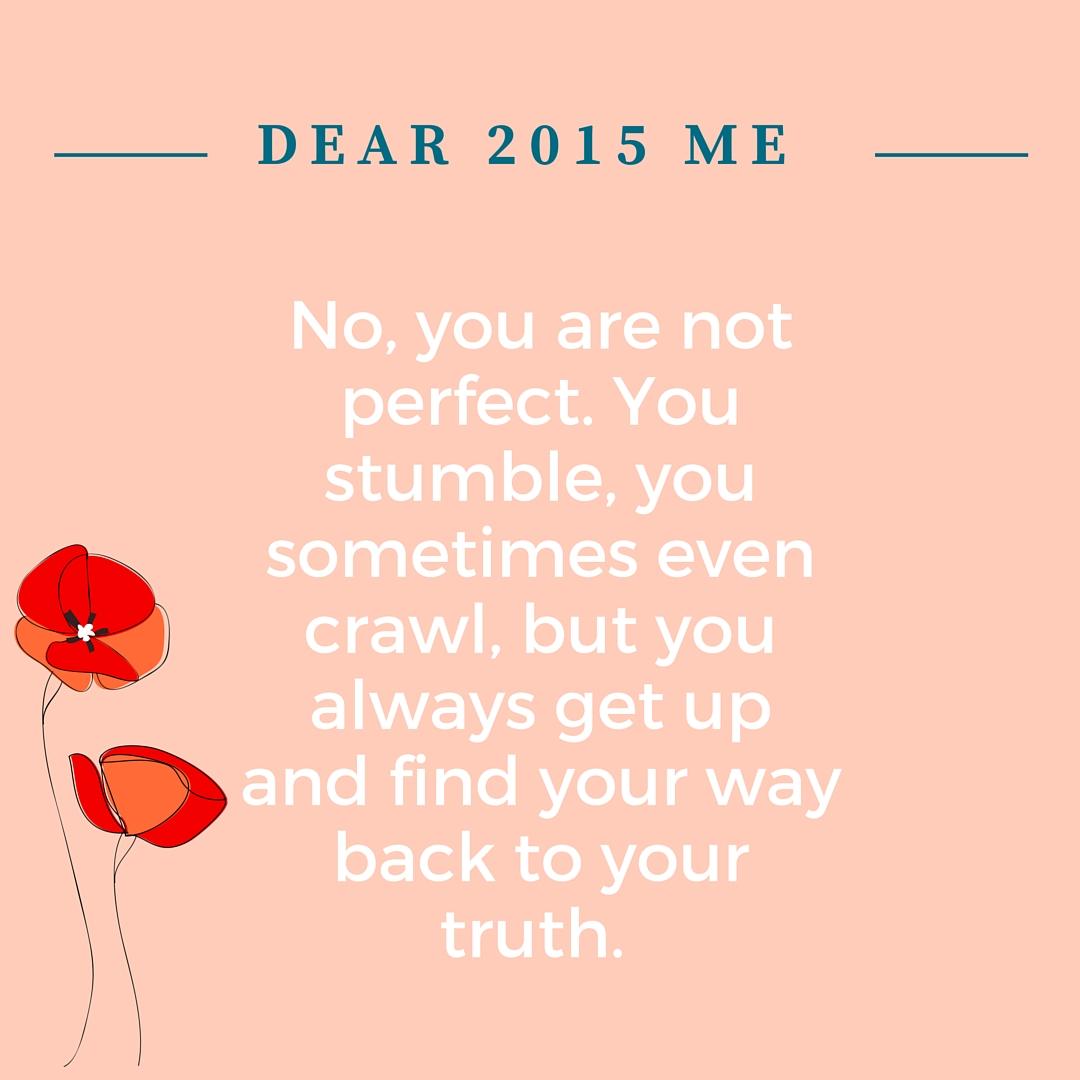 #BehindTheBlogger Dear 2015 Me