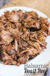 Balsamic Roast Beef | Mandy's Recipe Box