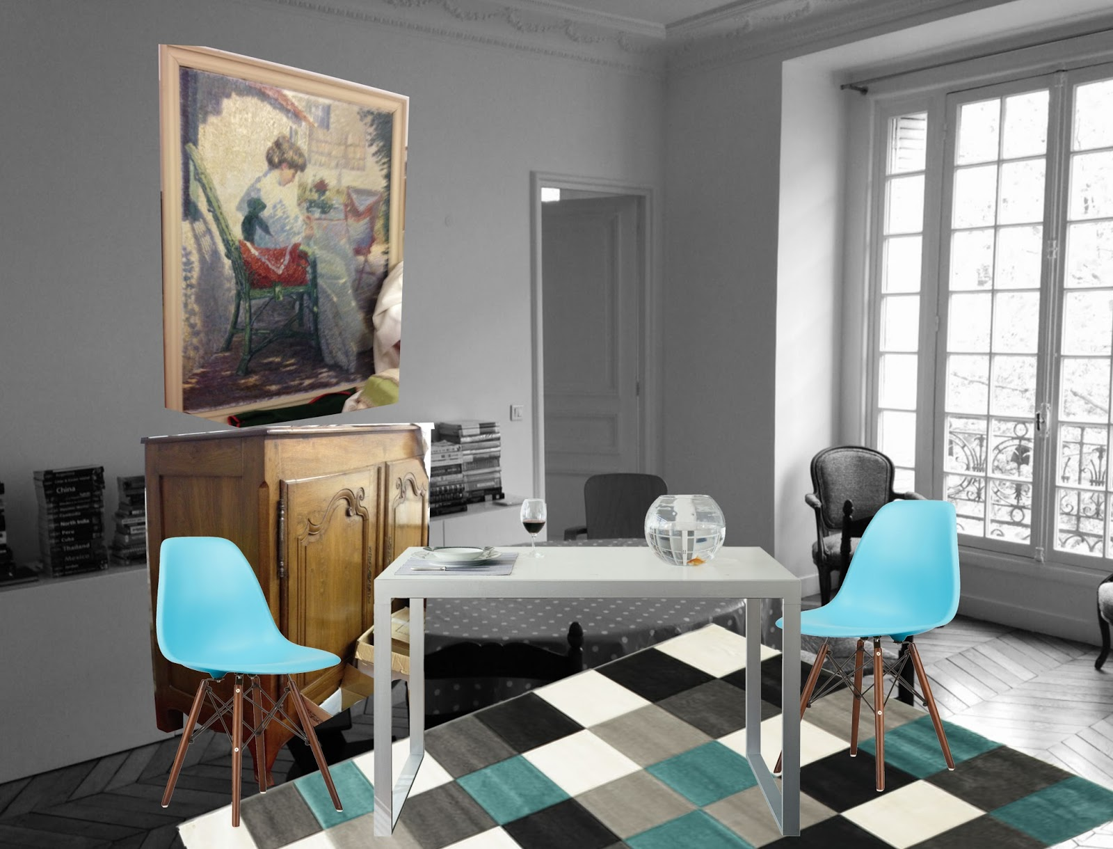 archiLAURA Home Design: Un soggiorno a Parigi | A living room in Paris