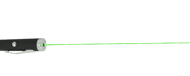 Laser Verde Transparente png