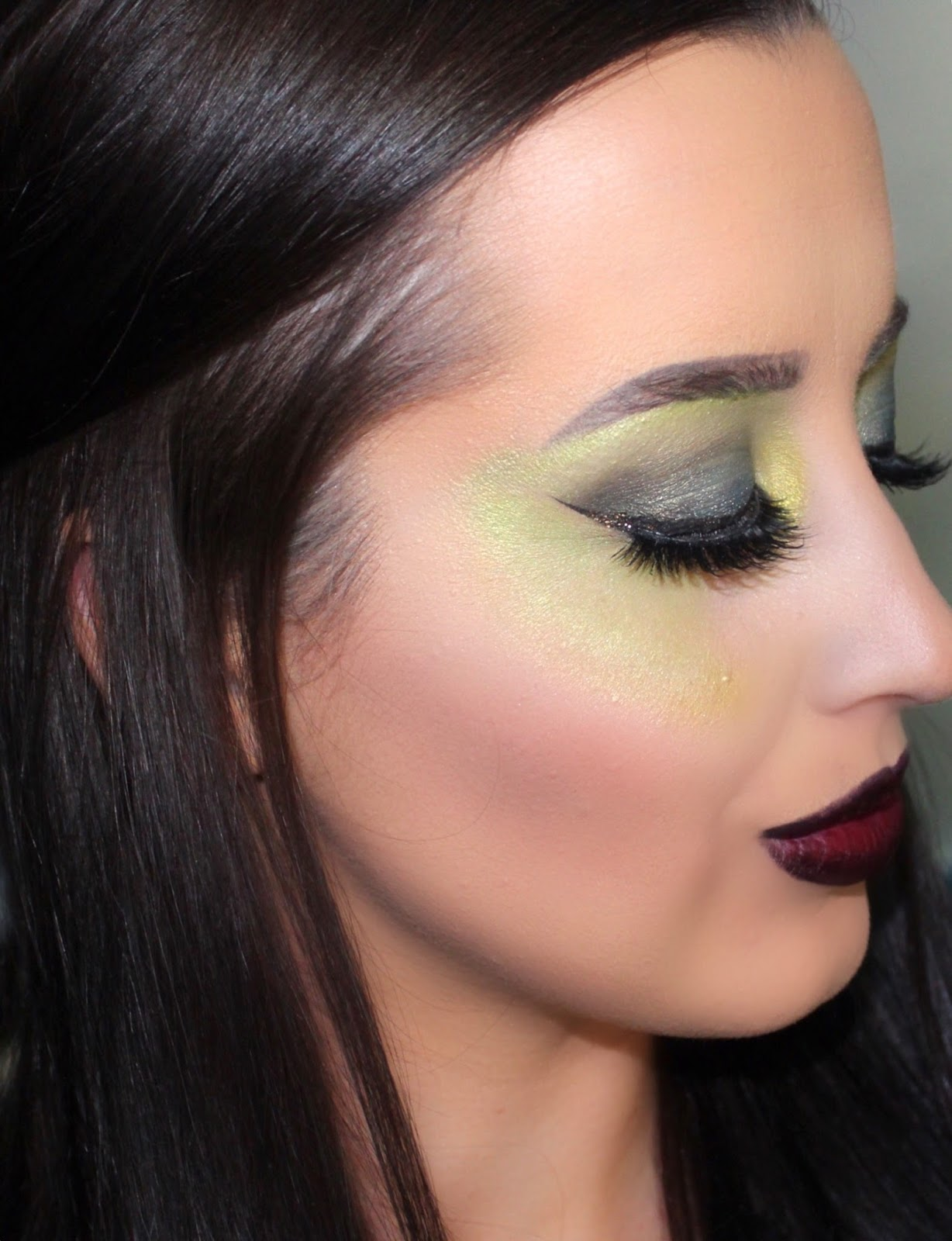 Wicked Witch Halloween Makeup Tutorial | Ashley Riley