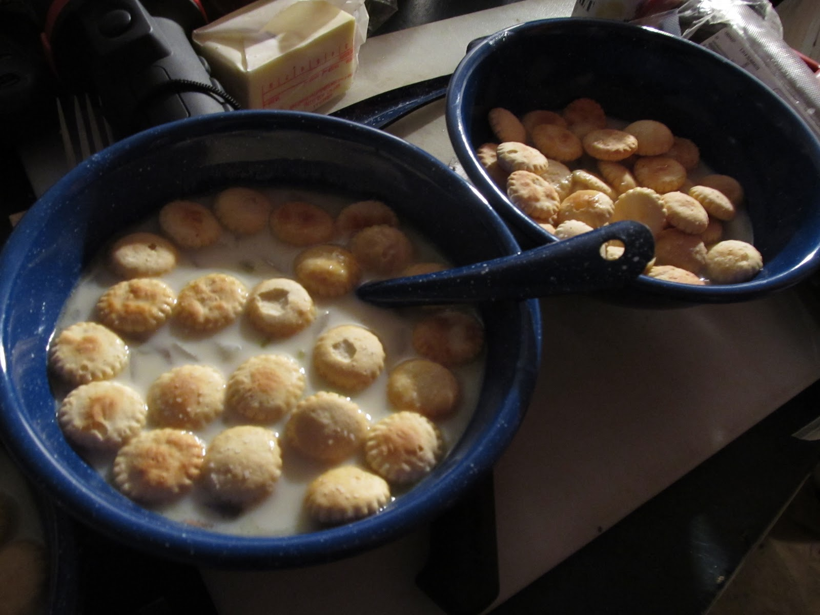 Homestead Wannabes Christmas Day Oyster Stew Recipe