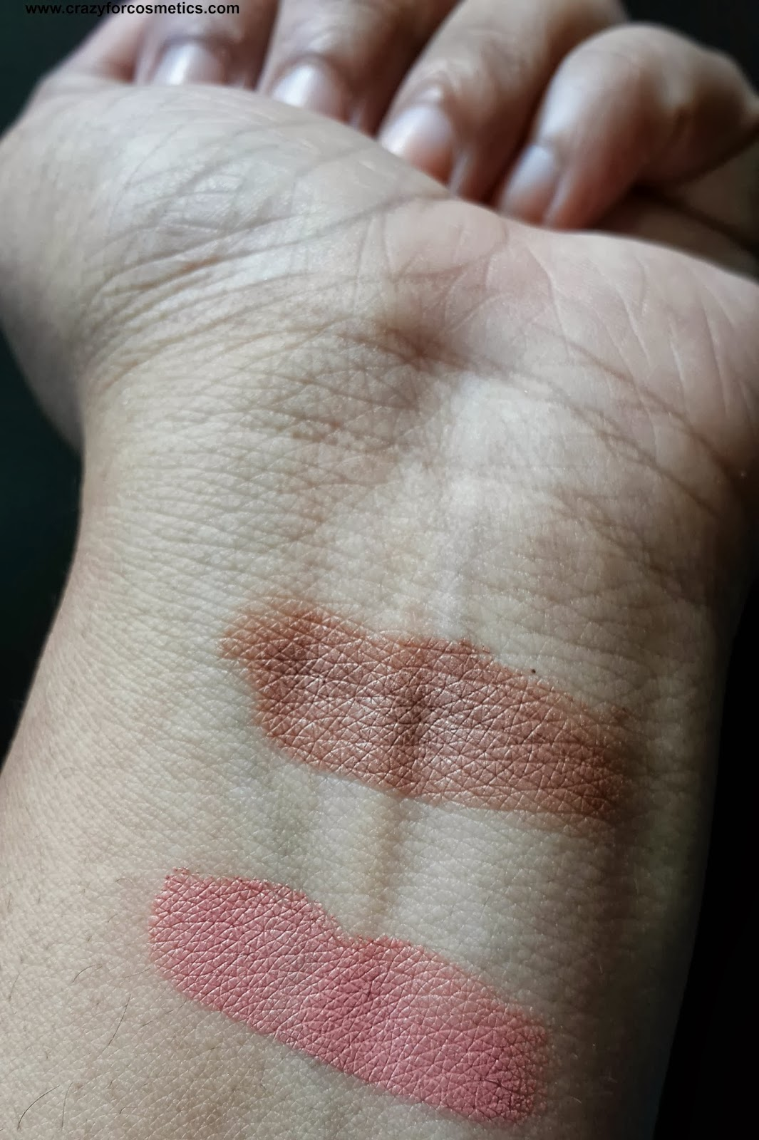 ELF Contouring Cream & Blush review Swatches