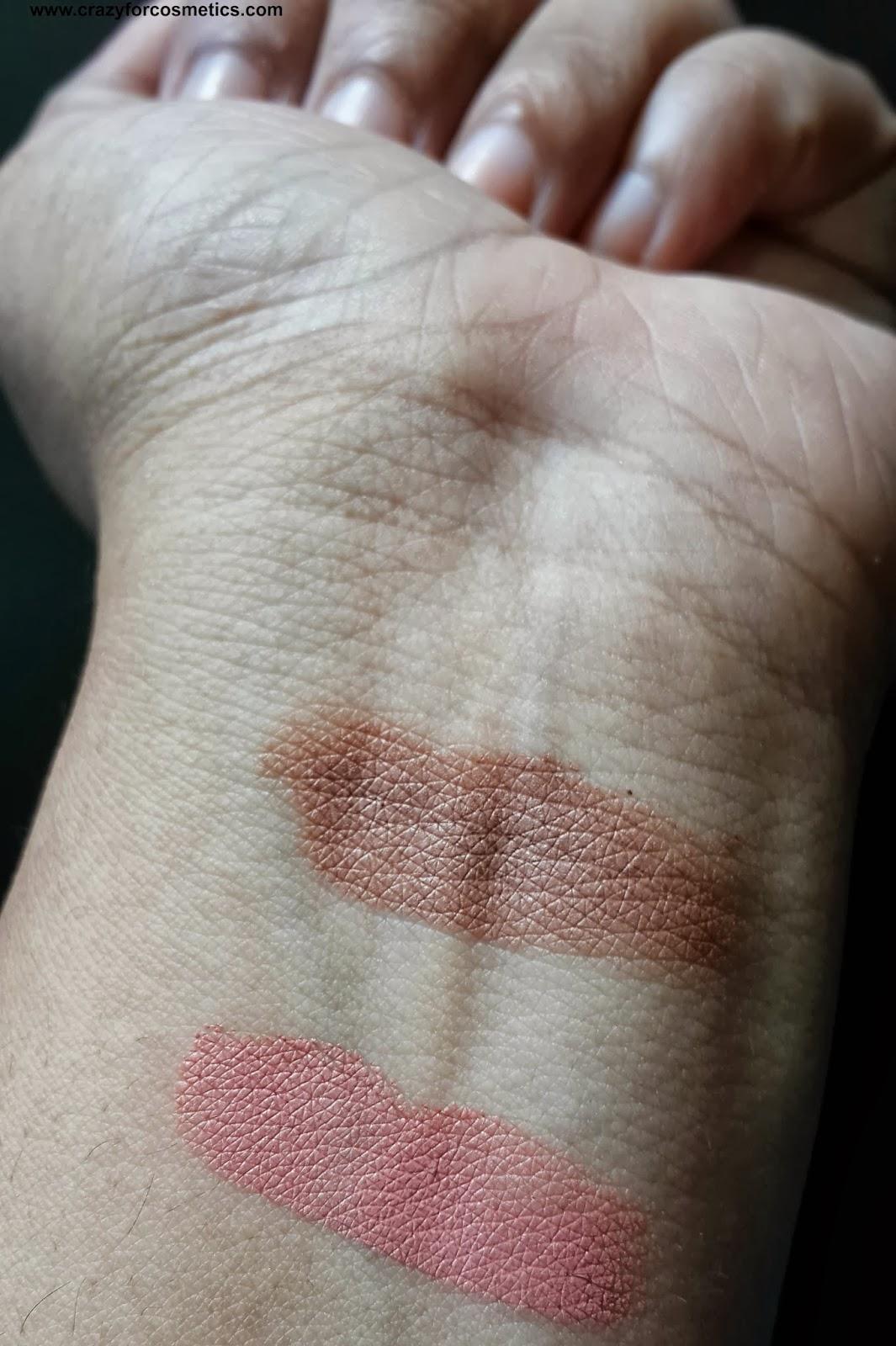 ELF Contouring Cream & Blush review Swatches