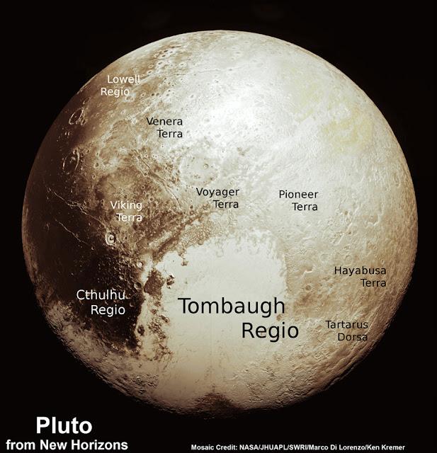 Mapa de Plutón