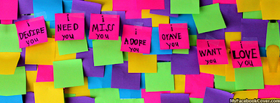 Desire, Need, Miss You Facebook Profile Covers