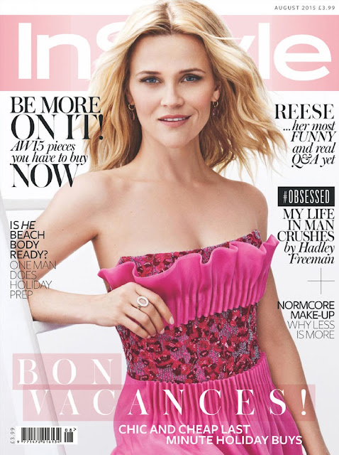Actress, Model @ Reese Witherspoon - Instyle UK, August 2015