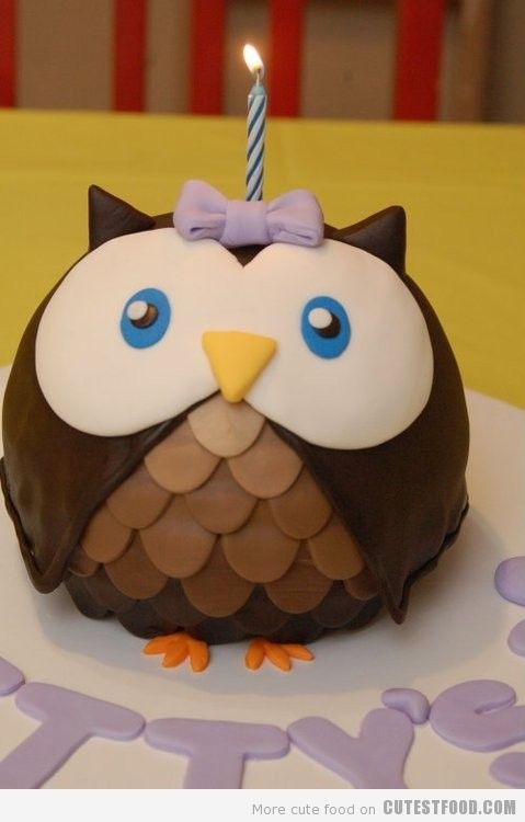 Outside the Box: Owl Cake in Four Easy Steps
