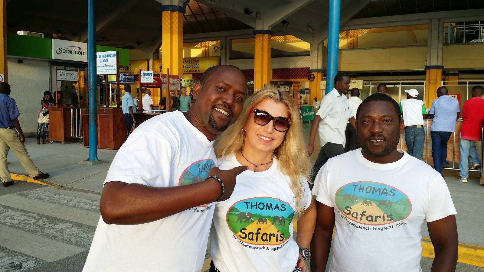 Aeroporto Kenya : Thomas tours & safaris with thomas mboya: il mio compleanno in kenya