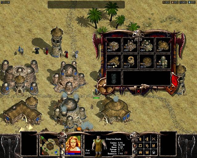 Warlords Battlecry 3 - Dwarf Race Buildings Description