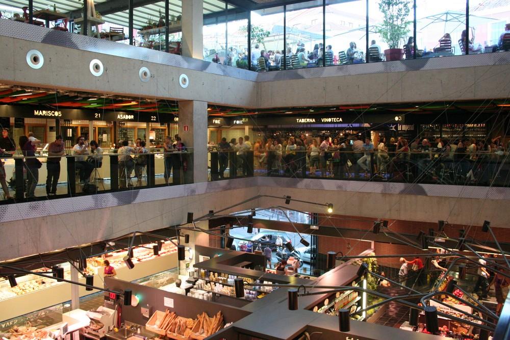 Vista Mercado de San Anton