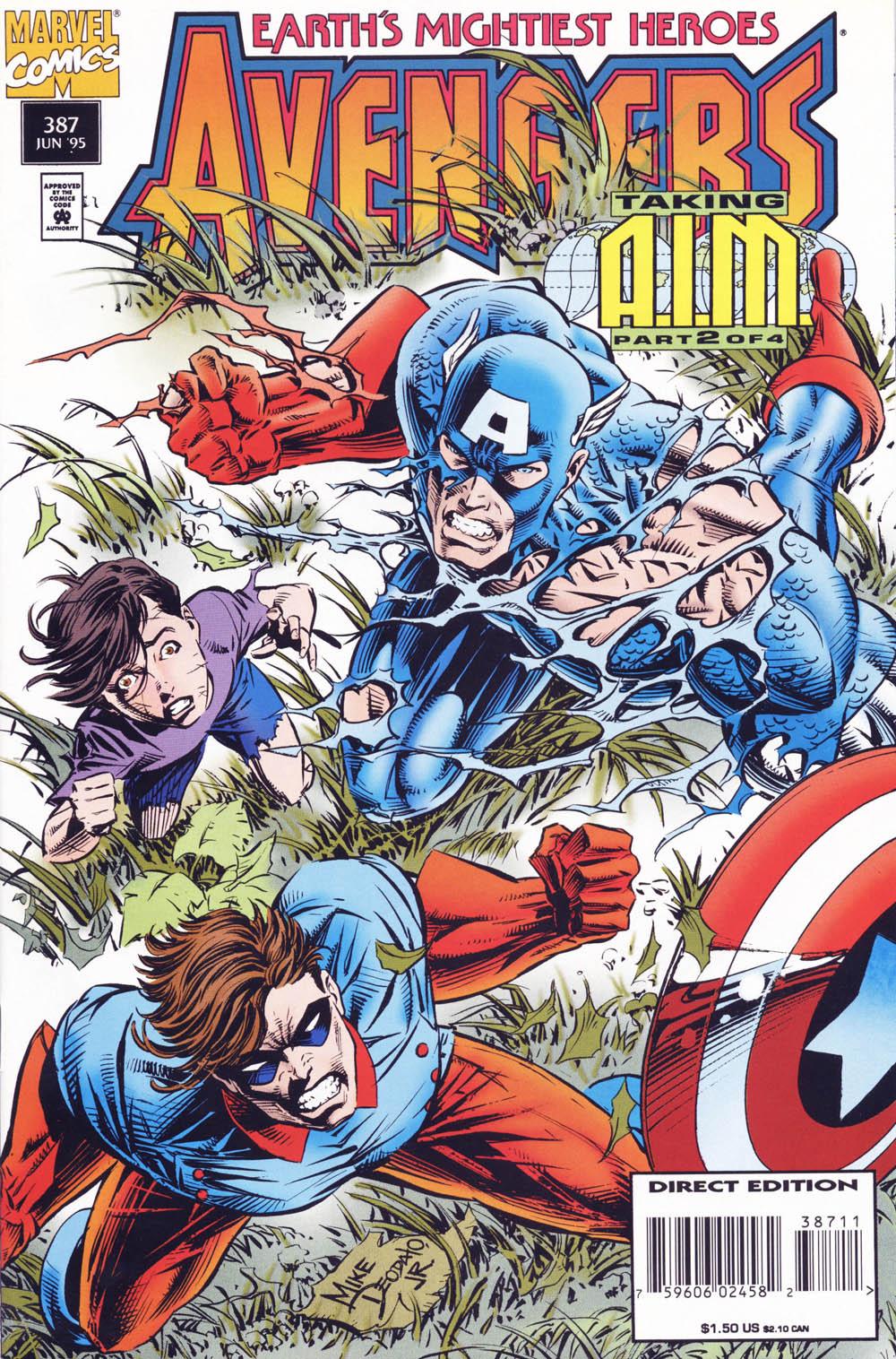 Captain America (1968) Issue #440b #393 - English 1