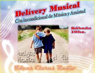 Delívery Musical Sábado 19hs.