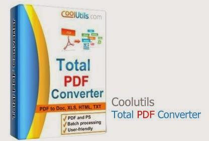 تحميل برنامج Total PDF Converter المتخصص في تحويل ملفات بي دي إف PDF