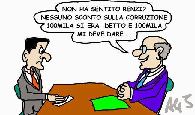 vignetta Corruzione