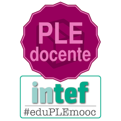 Badge PLE docente de #eduPLEmooc