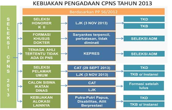 Penerimaan CPNS 2013 Mulai Diumumkan