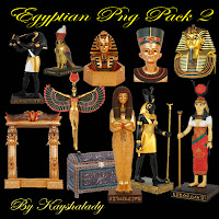 Egyptian PNG pack 2 tubes