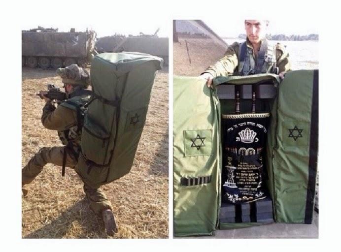 Nuestros soldados tienen gran cantidad de objetos de valor durante la guerra, pero ninguno más invaluables de nuestra Sagrada Torá