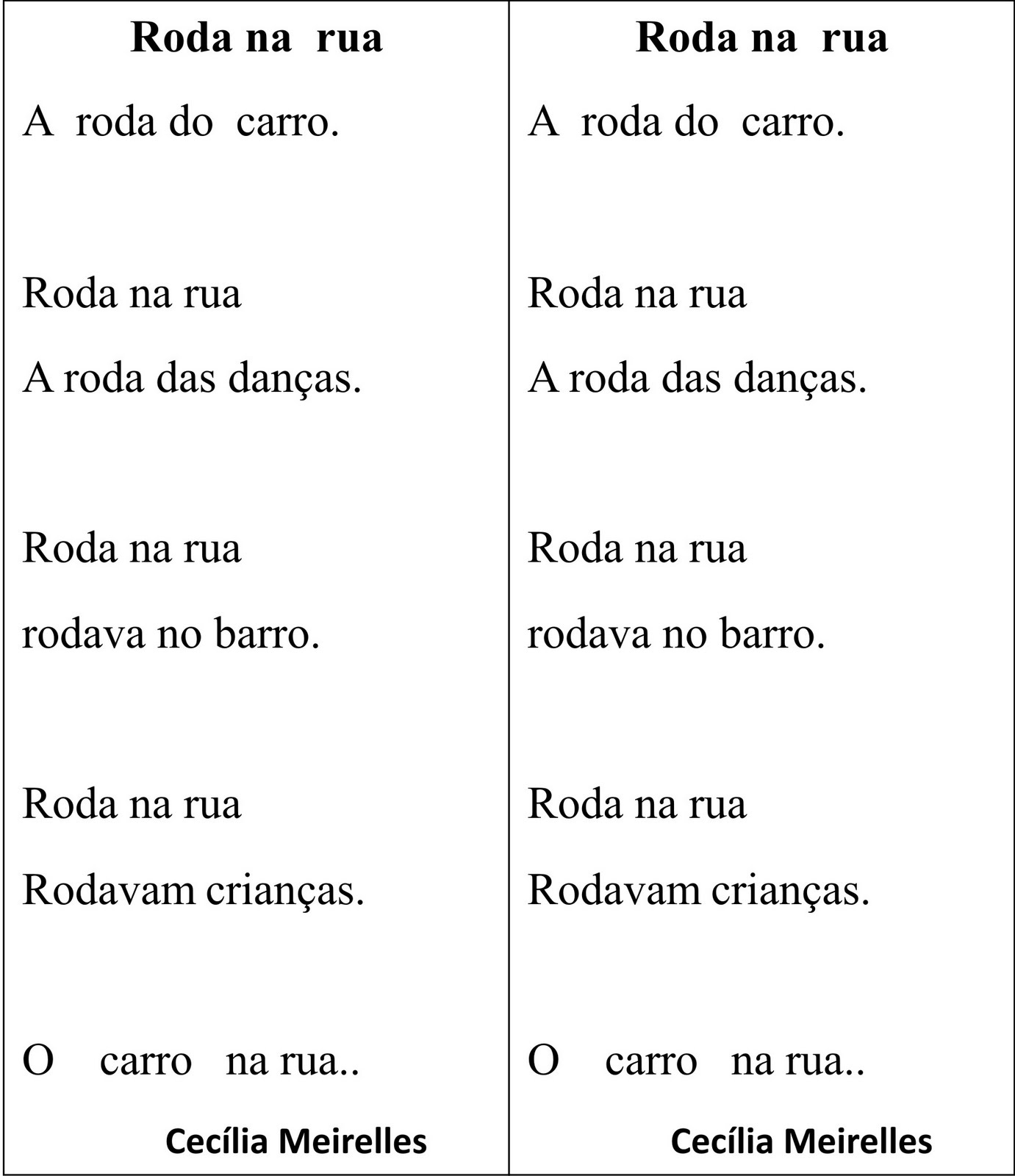 Poemas de Cecília Meireles. - .:: Poemas de Amor