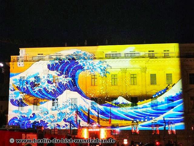 fetival of lights, berlin, illumination, 2013, bebelplatz, Gendarmenmarkt, Ostbahnhof, Vivantes, Oberbaumbrücke, beleuchtet, lichterglanz, berlin leuchtet