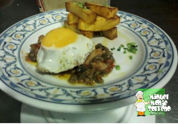 Receta de Carne Tiras de Solomillo a la Manchega
