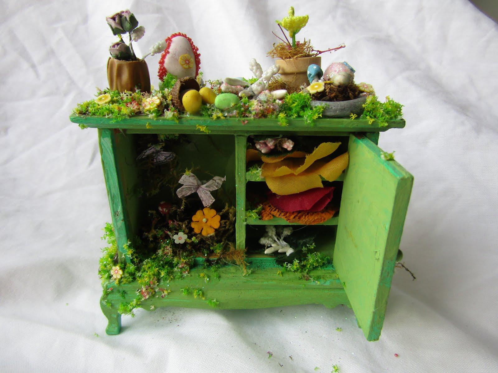 Spring garden cupboard