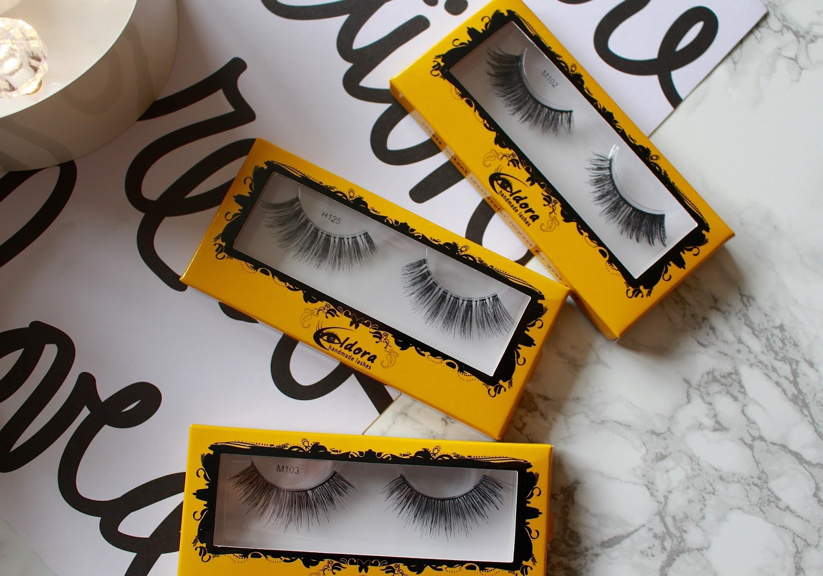 Eldora Eyelashes Review UK, Forever Beaux Review 2015, Best UK Eyelashes