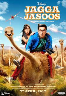 Jagga Jasoos 2017 Hindi Movie 220Mb hevc DVDSCR