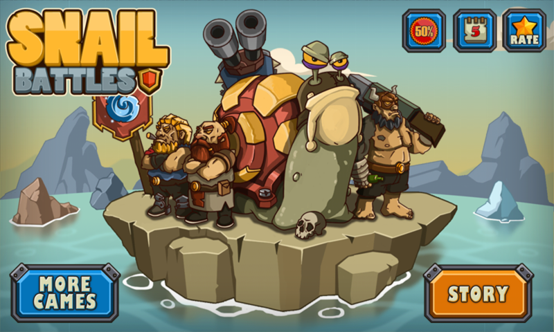 Snail Battles Gameplay Android