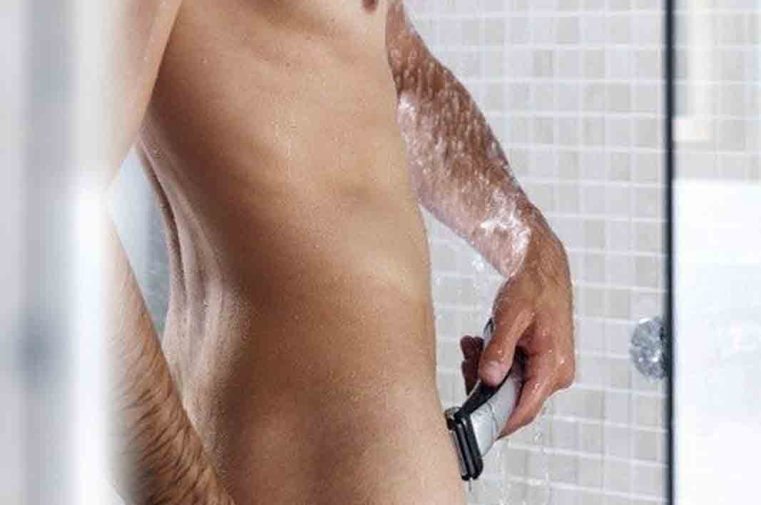 should men shave there cock
