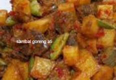 resep masakan indonesia sambal goreng ati kentang spesial praktis, mudah, sedap, nikmat, gurih