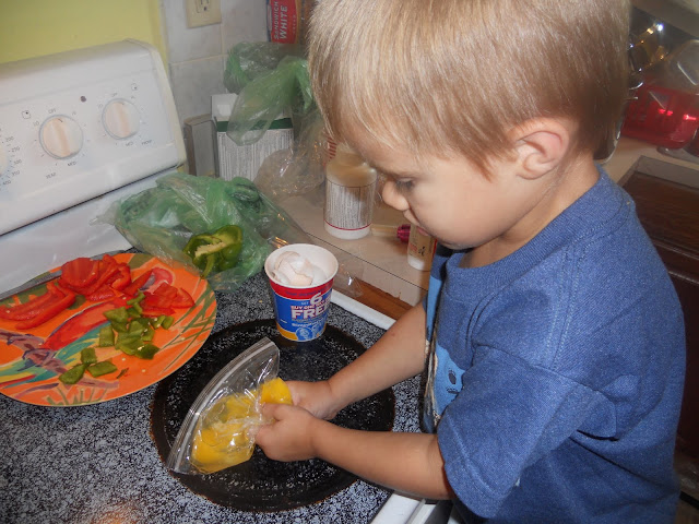 making omelets