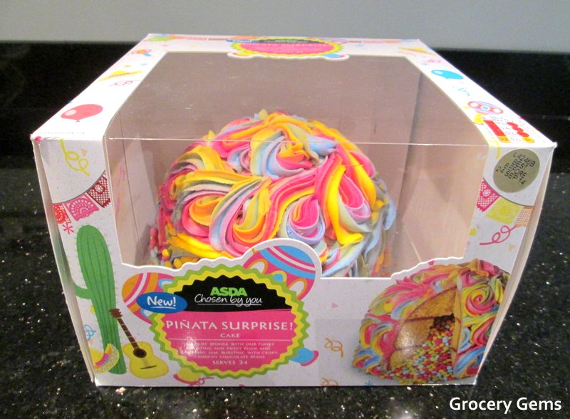 Character Birthday Cakes Asda ~ Grocery gems new asda surprise piñata cake