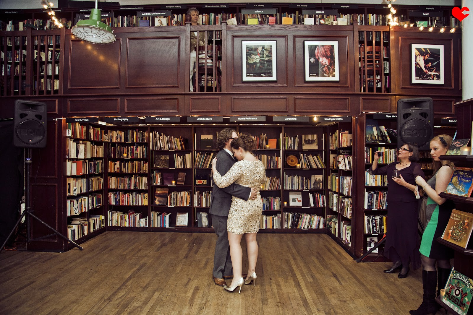 Perfect Housing Works Bookstore Nyc Wedding Of Jaci + Dan   Part Two