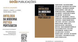 PARTICIPAÇÃO NA ANTOLOGIA DA MODERNA POÉTICA PORTUGUESA - SEDA PUBLICAÇÕES - MARÇO 2013
