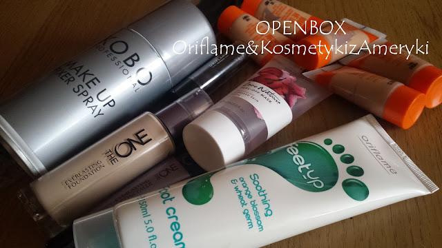 OPENBOX: Oriflame katalog 1/2016 & KosmetykizAmeryki