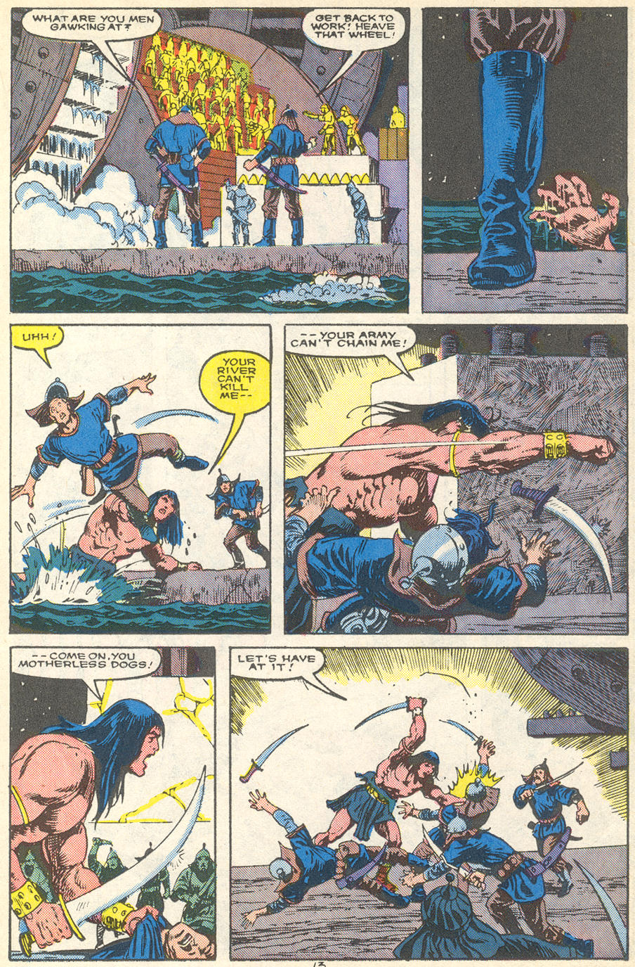 Conan the Barbarian (1970) Issue #215 #227 - English 10