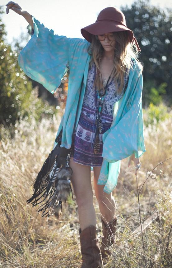 Hippie Fashion Style Me Girl