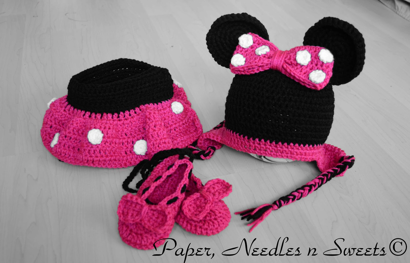 Crochet Patterns For Minnie Mouse : Image Minnie Mouse Crochet Pattern Free Download