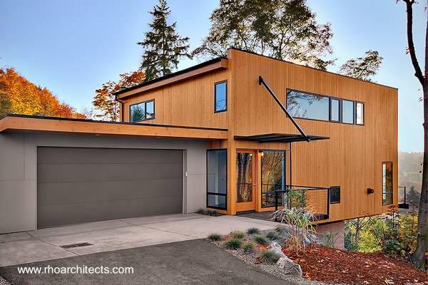 Casa moderna contemporánea en Estados Unidos