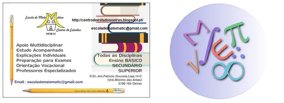 Escola de Matemática OEIRAS Centro de Estudos