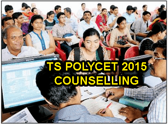 TS Polycet Web Counselling Dates 2015, TS Polycet 2015 Counselling Schedule Rank wise 1 - last rank, TS Polycet Certificate Verification Dates, Telangana Polycet Web Options, TS Polycet Rank wise Counselling 2015, TS Polycet Seat Allotment Order, Helpline Centers List 2015, tspolycet.nic.in Counselling 2015