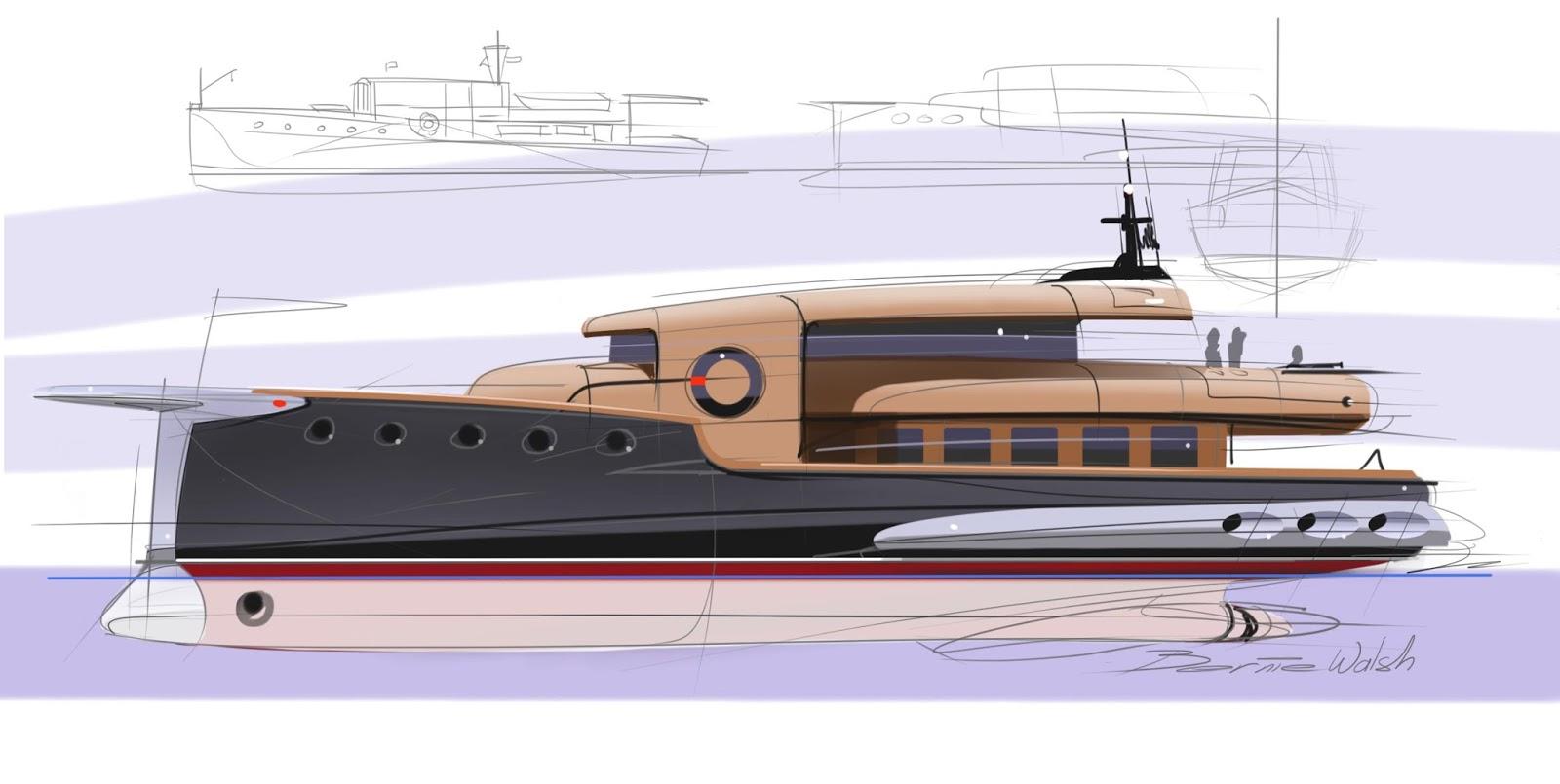 Speed Boat Sketch Afternoon speed sketch