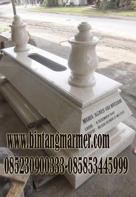 Model Batu Makam Marmer granit Tulungagung
