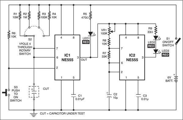 capacitor under test