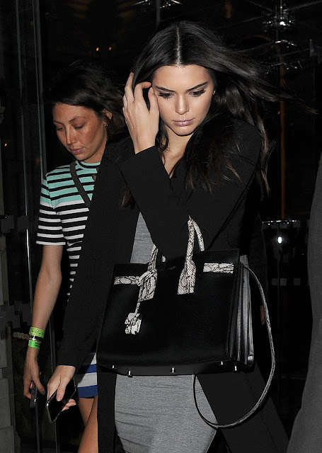 Fashion Model, TV Personality @ Kendall Jenner - Leaving her hotel in London