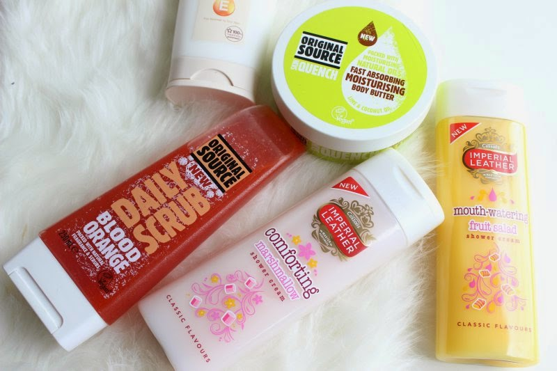 New Bath and Body Products April 2015