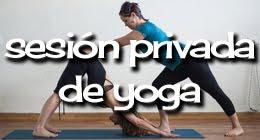 Sesión privada de yoga
